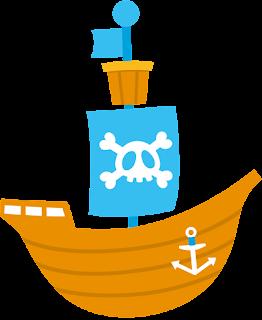 Clipart de Piratas Bebés.