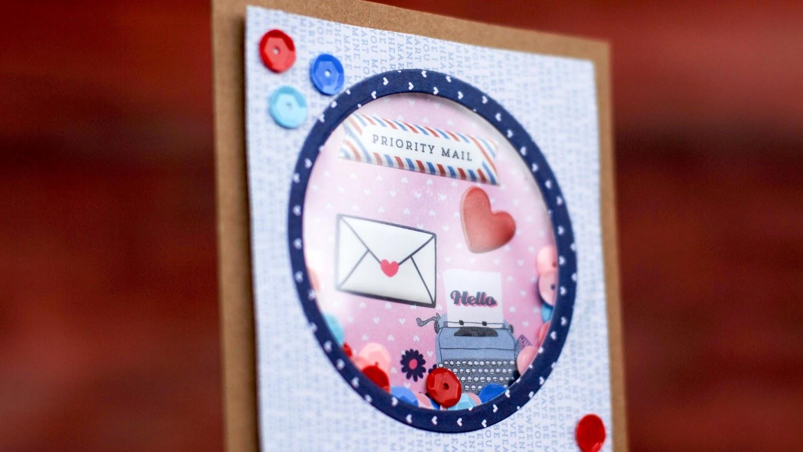 shaker card making video tutorial