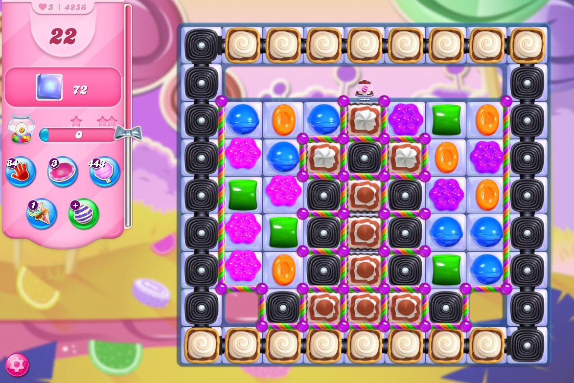 Candy Crush Saga level 4256