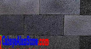 Harga Batu Alam Candi Hitam Per Meter Persegi