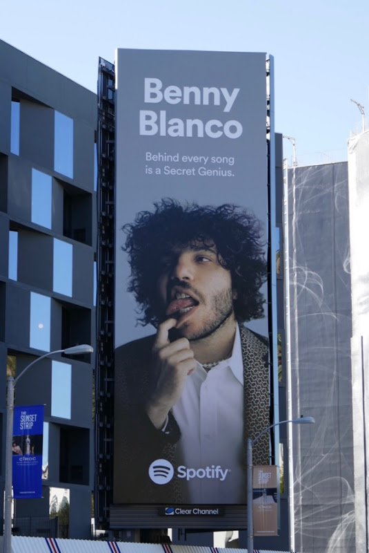 Benny Blanco Spotify billboard