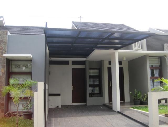 model kanopi garasi minimalis terbaru