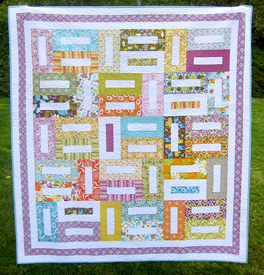 A Walk in the Park Quilt Free Tutorial Designed by Ellie Roberts of Craft Sew Create