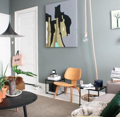 Einrichten und Wohnen mit Farbe: Spiel mit Fingerspitzengefühl wenn dunkle neutrale Farben in der Einrichtung gewählt werden