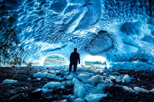 Big Four Ice Caves, Gunung Rainier, Amerika Serikat
