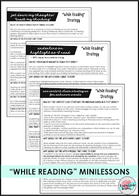 "It's possible to help yoru students learn to ""think through reading tests."" These minilessons for teaching your students to take standardized reading tests without using drill and kill practice will allow you to continue running a readers workshop while preparing your students for end of grade tests or standardized tests. Free reading minilesson included!"