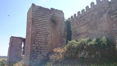 ruta en moto por el Castillo de Escalona