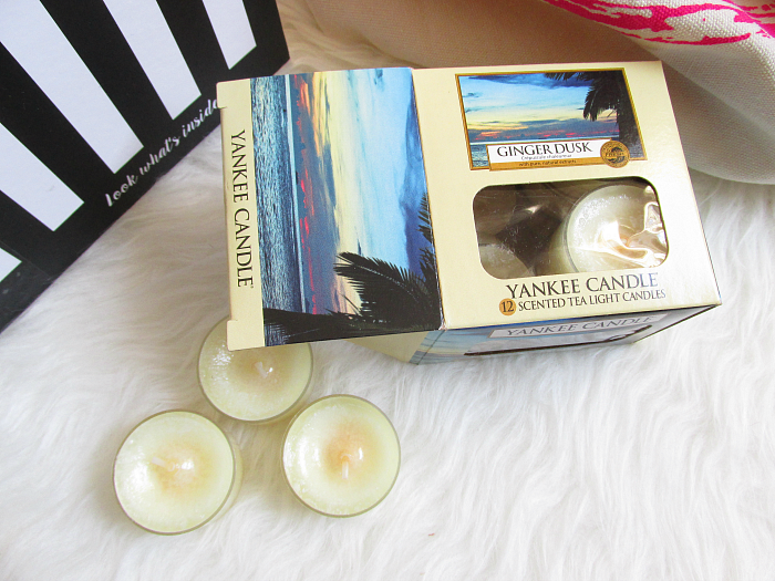 "Unboxing: La Petite Box Januar - ""Well Being"", Yankee Candle Ginger Dusk Teelichter, Home & Living, Lifestyle"