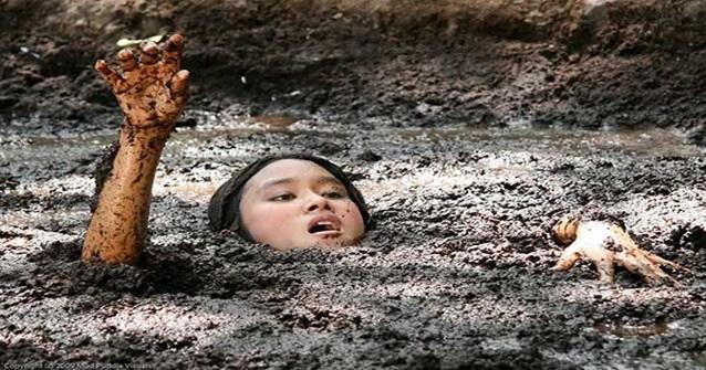 Areia movediça pode matar