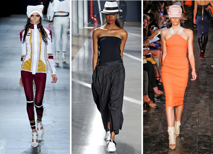 Simply frabulous New York Fashion Trend sporty glam