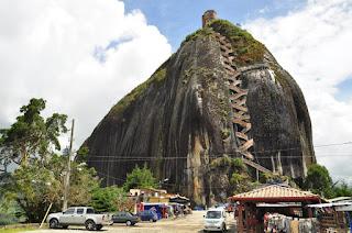 Escaleras Piedra del Peñol - Peñón de Guatapé