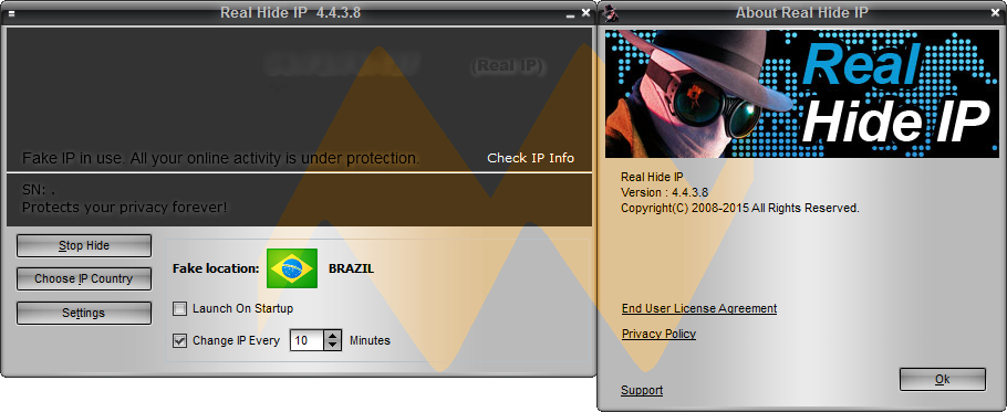 Real Hide IP 4.4.3.8 Full Crack