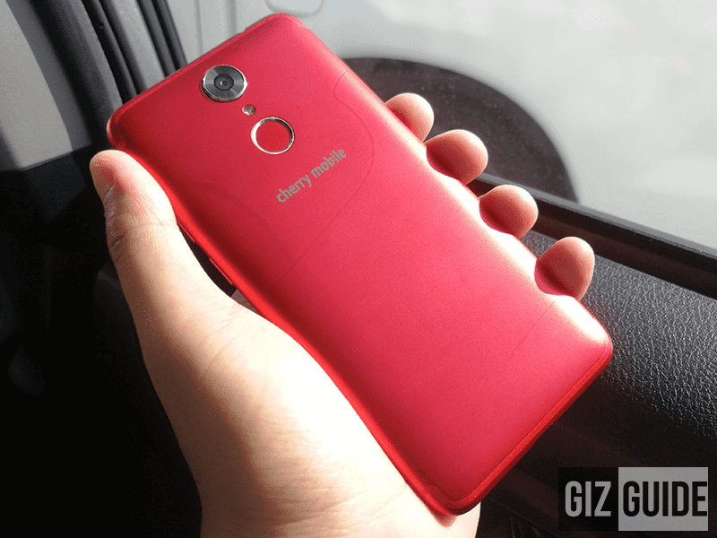 Cherry Mobile Flare S6 in Limited Edition Red will be available this week