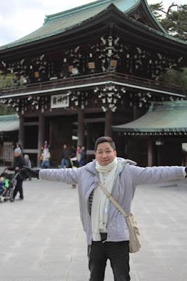 Renz Cheng in Meiji Jingu, Tokyo
