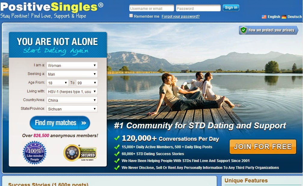 Herpes Dating-Website san diego