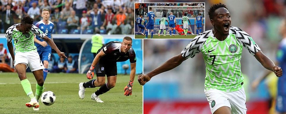 b9b98b0231 Nigéria derrota Islândia e disputa com Argentina uma vaga nas ...