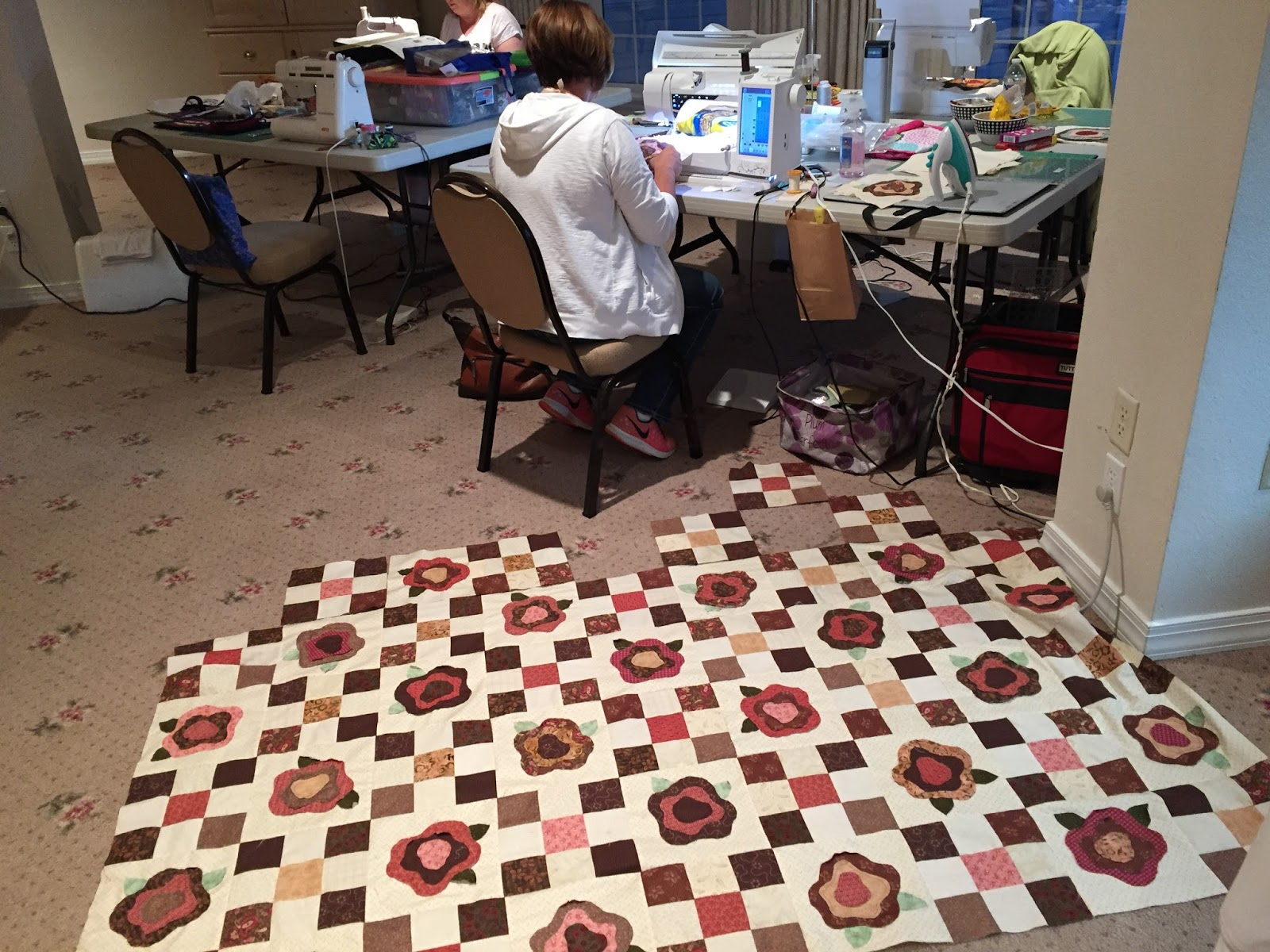 Val S Quilting Studio Recipe For A Fun Retreat