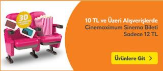 sinema bileti kampanya