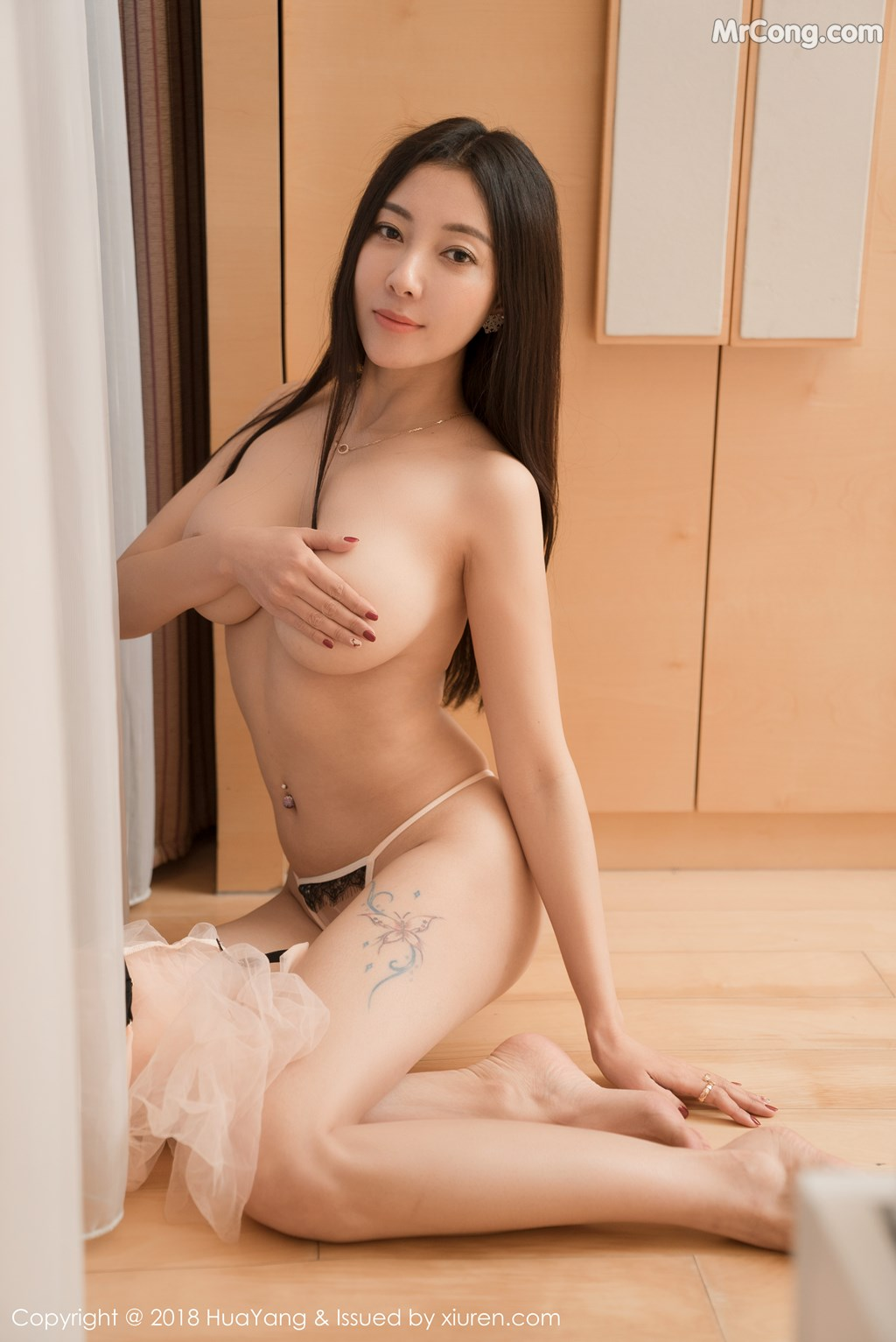 Image HuaYang-2018-01-26-Vol.028-Victoria-Guo-Er-MrCong.com-014 in post HuaYang 2018-01-26 Vol.028: Người mẫu Victoria (果儿) (41 ảnh)