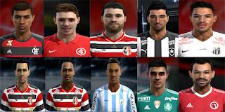 Facepack Brasileirao 2016 v10 Pes 2013 By-FB