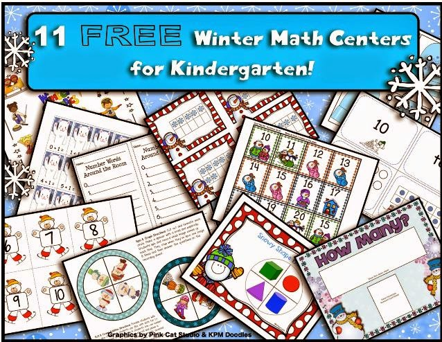 http://teachertamseducationaladventures.blogspot.com/2014/12/11-free-winter-math-centers-for.html