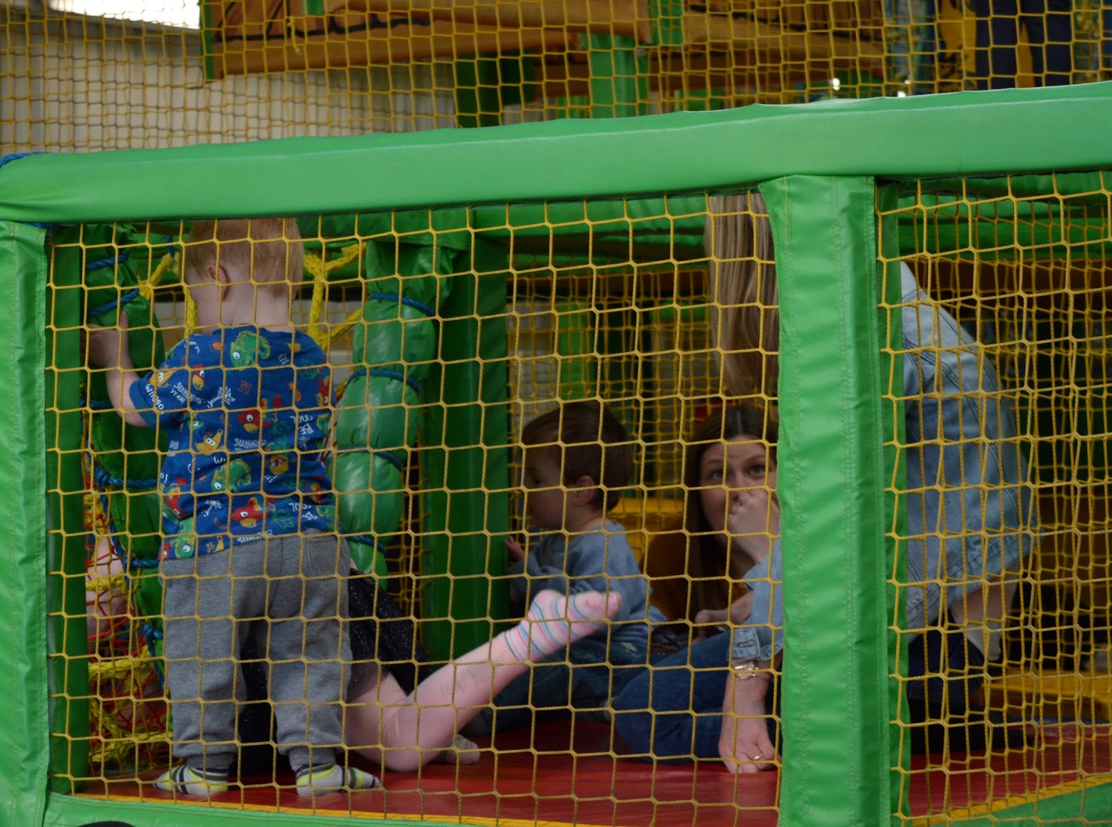 Birthday Parties at Whitehouse Farm in Northumberland | What to expect & review - farmers den soft play