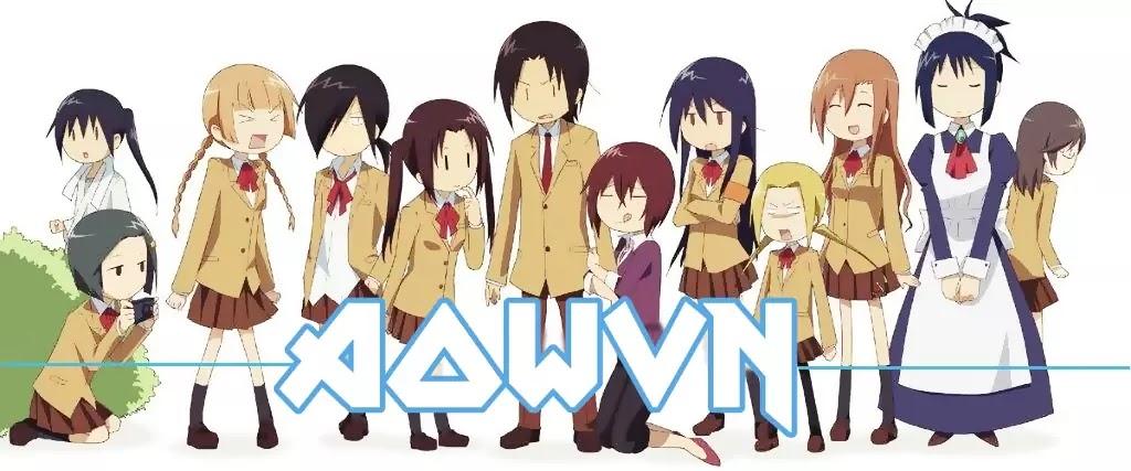 AowVN%2B%25281%2529 - [ Anime 3gp Mp4 ] Seitokai Yakuindomo - SYD SS1 + SS2 + OVA + Movie | Vietsub - Học Đường Hài Bựa