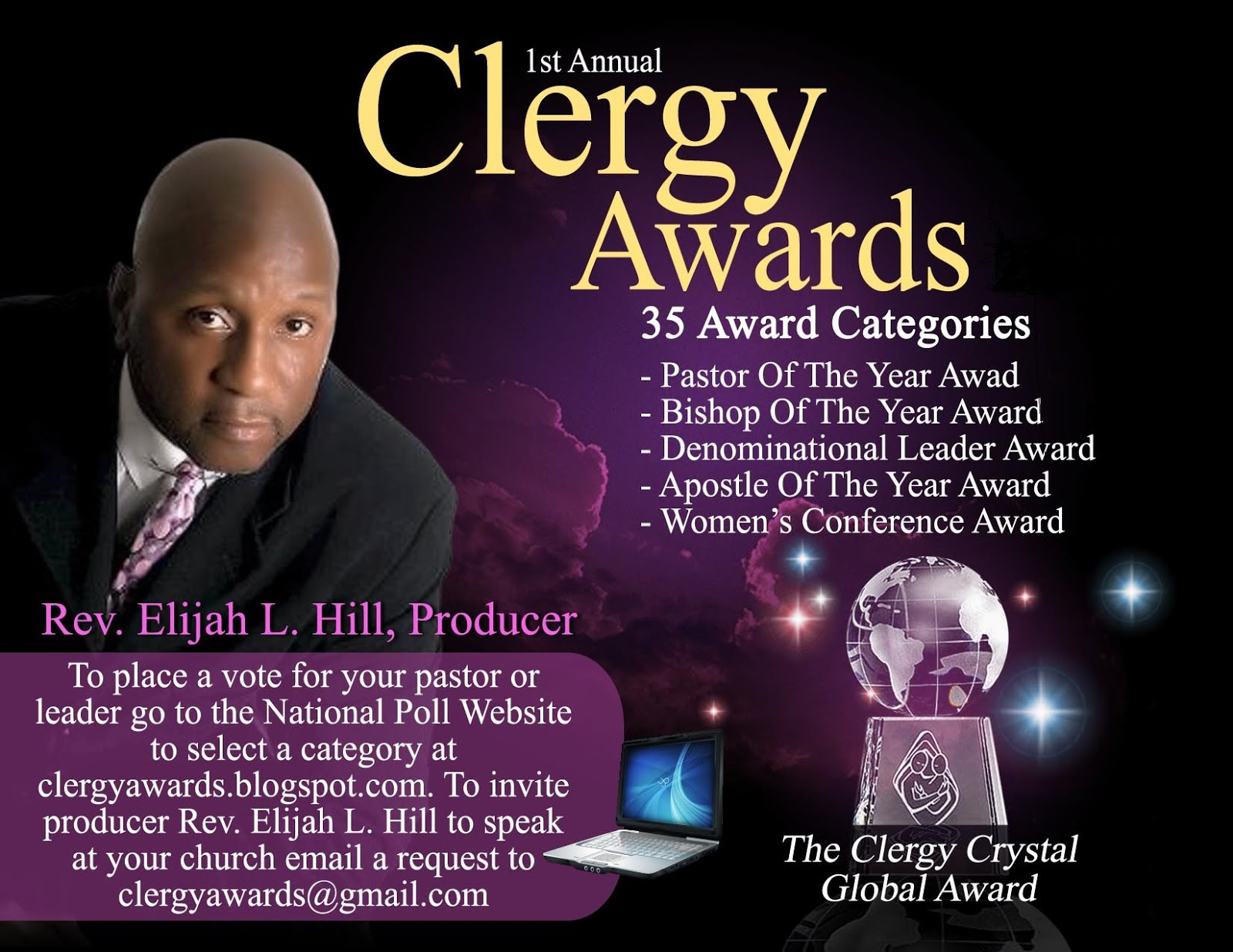 The Elijah Broadcasting Networks Annual Clergy Awards