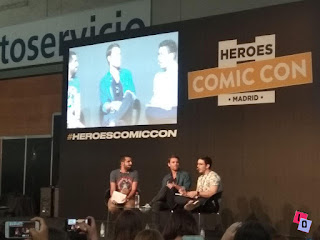 Paul Weasley en Heroes Comic Con Madrid 2018