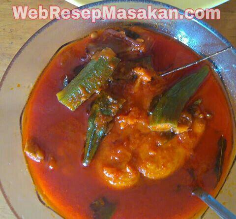 Sup Ikan Tenggiri asam pedas, resep sup ikan tenggiri asam pedas,