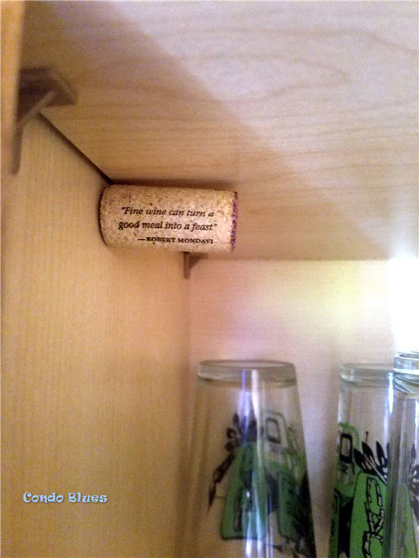 wine cork hack how to hang a shelf