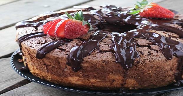 Black & White Angel Food Cake Recipe
