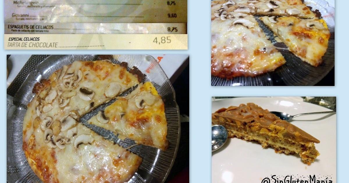 Singlutenman a restaurante pizza jard n sin gluten for Pizza jardin precios