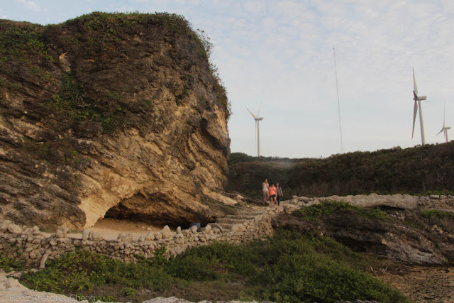 Kapurpurawan Rock Formation in Ilocos