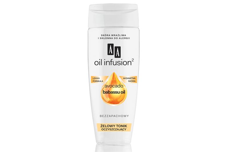 AA Oil Infusion2 Żelowy tonik oczyszczający