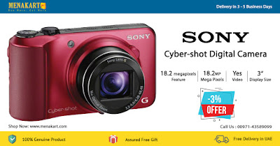 Cyber-shot Digital Camera - DSC-HX10V - Red