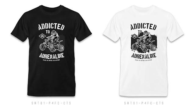 SRT01-P4FC-CTS Retro T Shirt Design, Custom T Shirt Printing