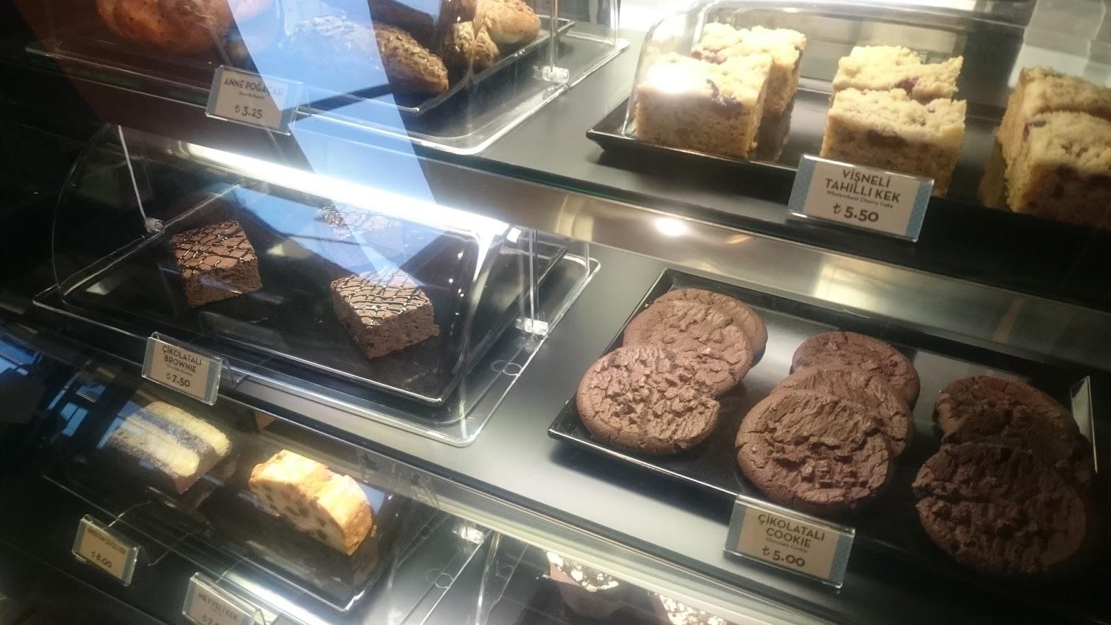 caribou coffee kekler tatlılar