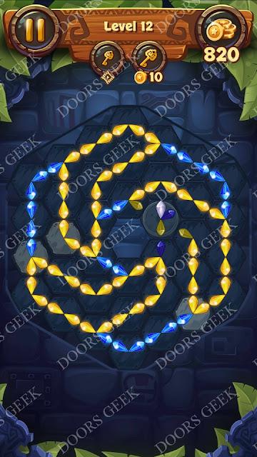 Gems & Magic [Tourmaline] Level 12 Solution, Walkthrough, Cheats