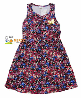 Vestido moda infantil no atacado