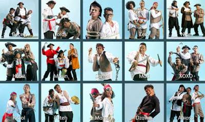 MLM2017, Poster Peserta Maharaja Lawak Mega 2017, Bocey Juara Berganda Maharaja Lawak Mega 2017, Finalis MLM2017, Puteh, Zero, Dzawin, Shiro, Bocey, Pemenang, Juara,