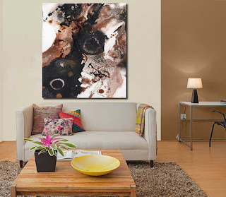 Compara pintura abstracta online