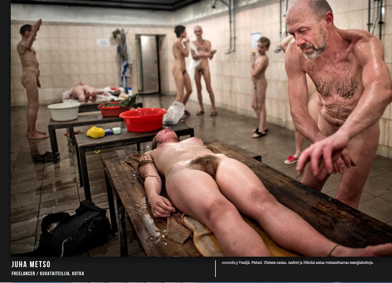 parempaa seksiä alaston nainen saunassa