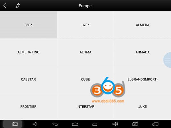 XTOOL-x100-pad2-добавляет ЕС-ниссан-1
