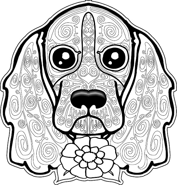 Dog Coloring Page Dog Coloring Pages Free Coloring Page Free Coloring  Pages For