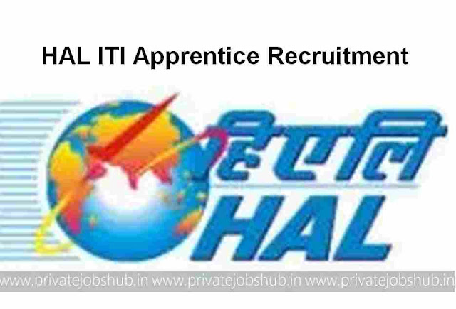 HAL ITI Apprentice Recruitment