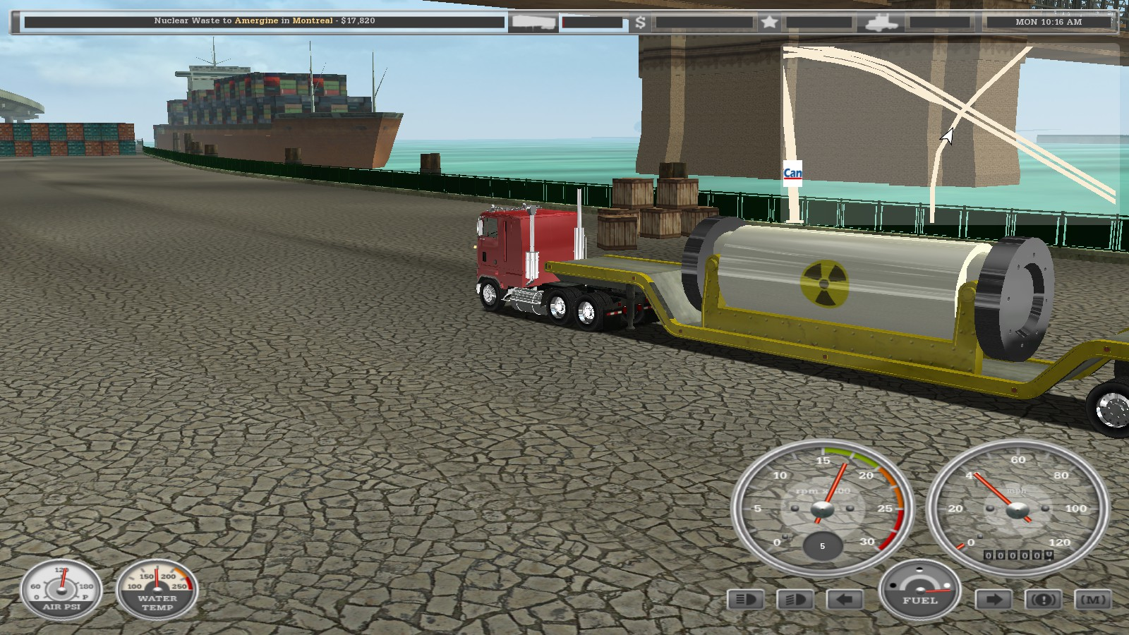 Climb to the Top of the Trucking World in 18 Wheels of Steel Haulin