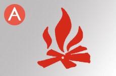 Классы, пожаров, А, твёрдых, горючих, веществ
