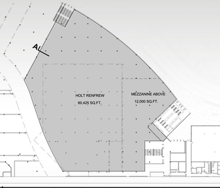 Fairview Mall Floor Plan: 60,425 Sq Ft Level Of The New Holt Renfrew Store, Sherway