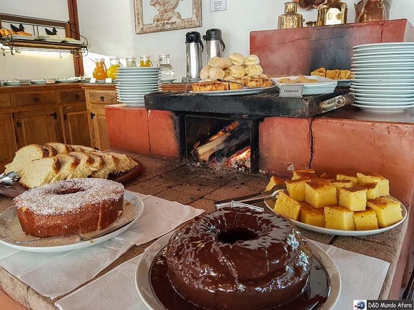 Café da manhã na Pousada Campos dos Holandeses - Onde ficar em Campos do Jordão